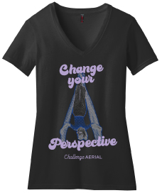 Change Your Perspective V-neck Tee