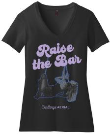Raise the Bar V-neck Tee